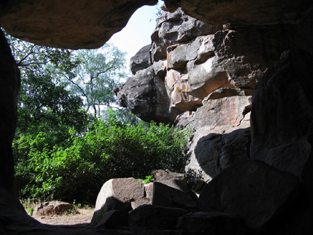 The Caves at Bhimbhetka | Photo: Arijit Banik