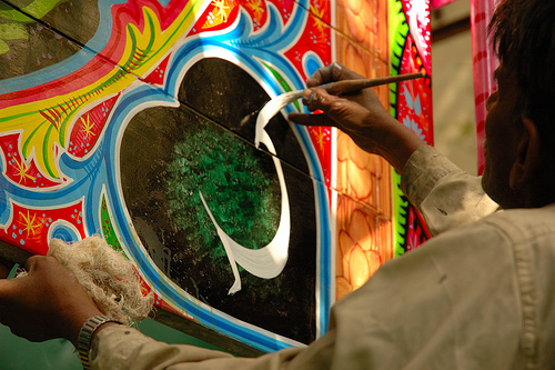 Truck Calligraphy | Photo: Umair Mohsin