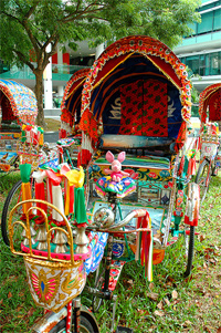 Decorated Rikshaw | Photo: doc18